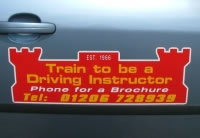 Approved Driving Instructor Car Sign